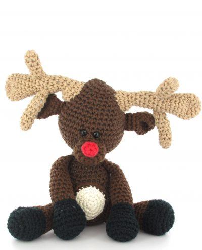 Haakpatroon Rudolf het rendier