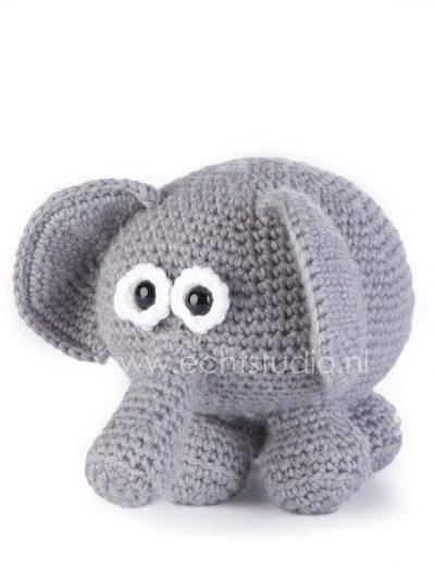 Haakpatroon olifant Olivia-0