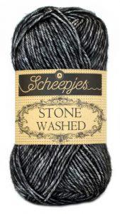 Scheepjes Stone Washed 803 Black Onyx