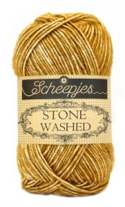 Scheepjes Stone Washed 809 Yellow Yasper