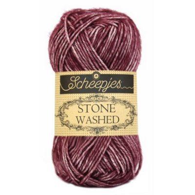 Scheepjes Stone Washed 810 Garnet