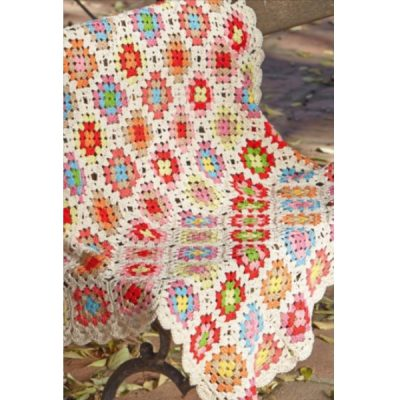 haakpatroon granny square kleed