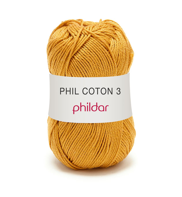 Phildar coton 3 1233 goud
