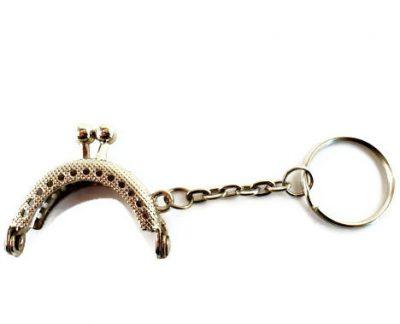 Portemonneesluiting 4cm zilver-0