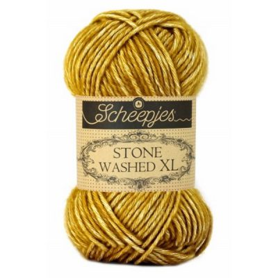 Scheepjes Stone Washed XL 849 Yellow Yasper