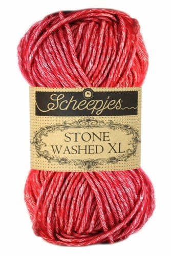 Scheepjes Stone Washed XL 847 Red Jasper