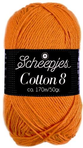 Scheepjes cotton 8 639 lichtoranje