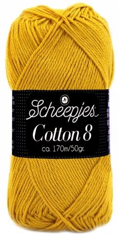 Scheepjes cotton 8 722 oker