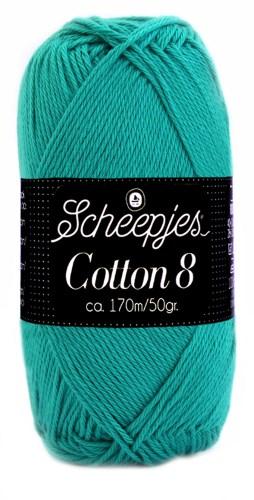 Scheepjes cotton 8 723 smaragd