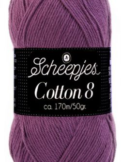 Scheepjes cotton 8 726 hyacinth