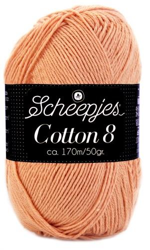 Scheepjes cotton 8 649 poederroze