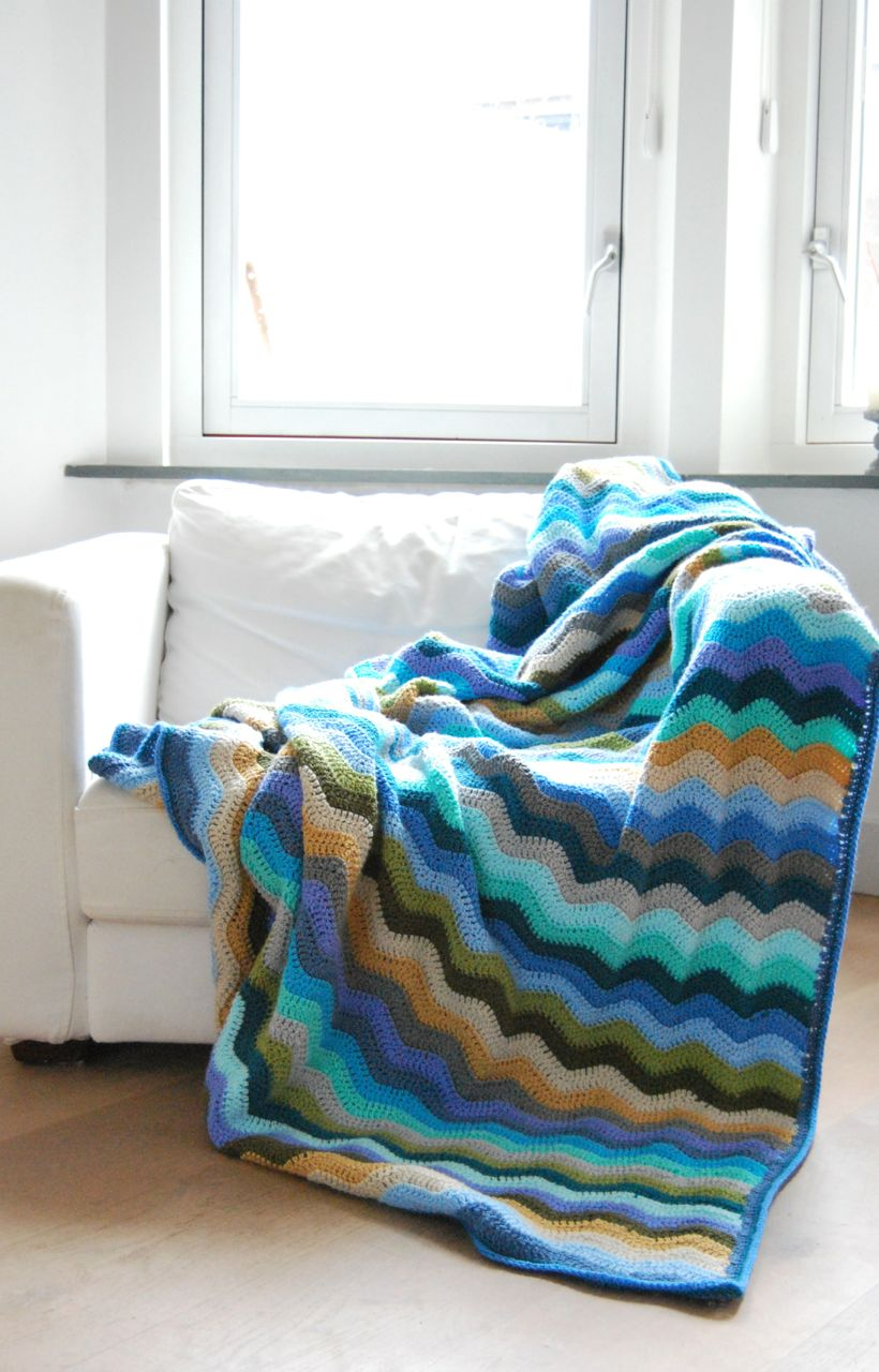 Haakpakket Coast blanket attic24-2444