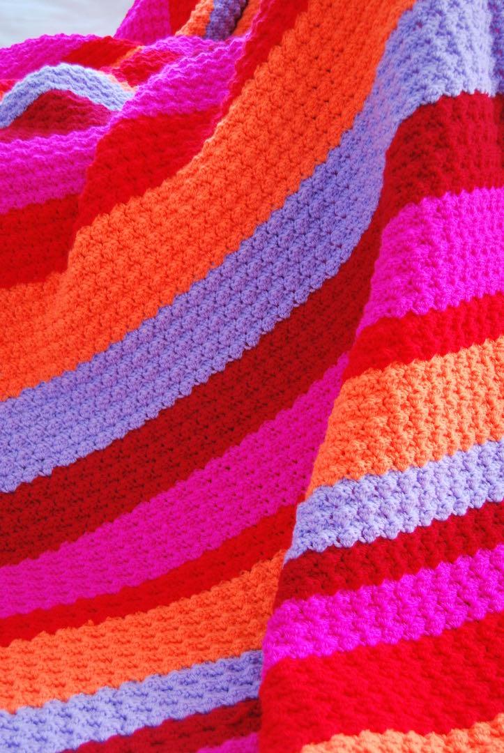 Haakpakket deken blanket stitch Fiesta Blanket-2712