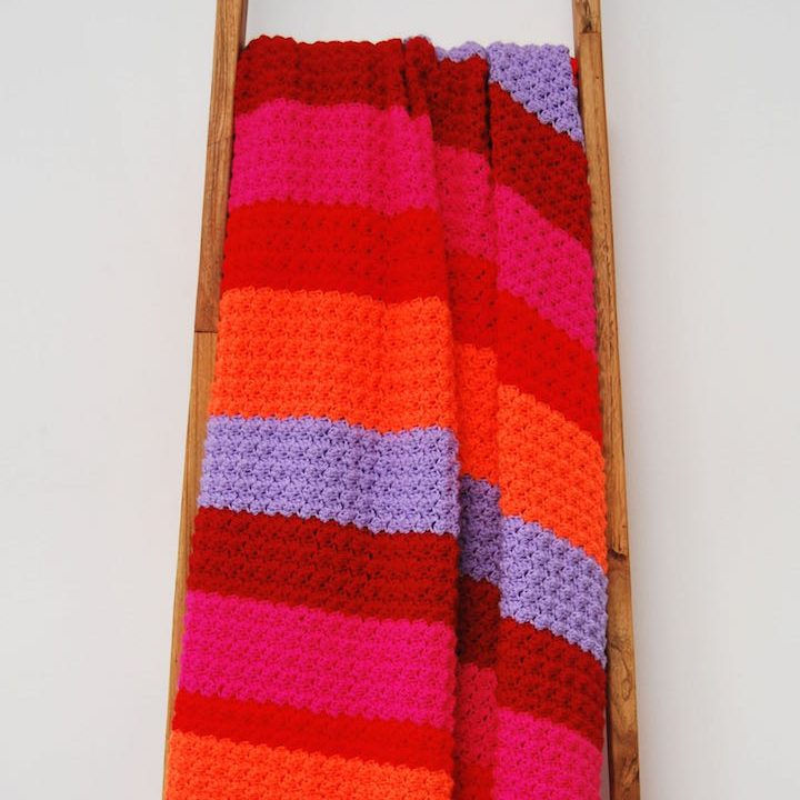 Haakpakket deken blanket stitch Fiesta Blanket-0