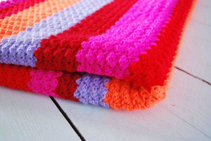 Haakpakket deken blanket stitch Fiesta Blanket-2710