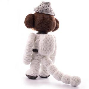 Haakpatroon space monkey