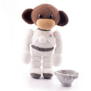 Haakpatroon space monkey 1