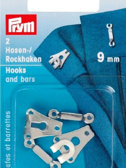 Prym Broek/rokhaak zilverkleurig 9mm
