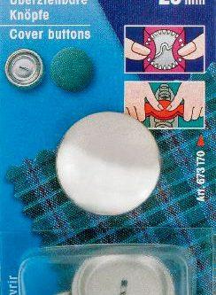 Prym Stofknopen 29mm nikkel