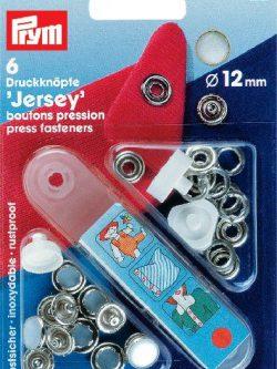 Prym Jersey 12mm parelmoer