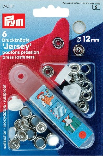 Prym Jersey 12mm parelmoer