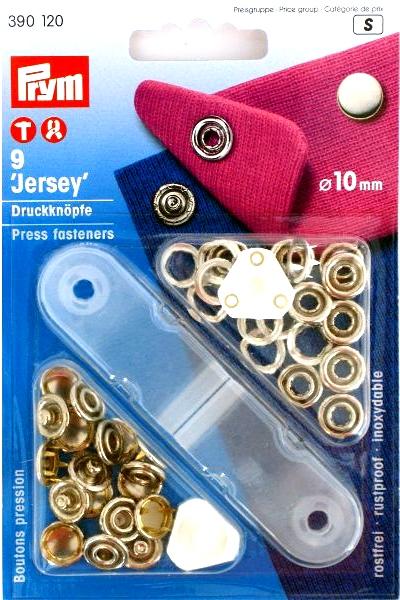 Prym Jersey 10mm kap nikkel