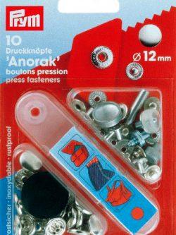 Prym Anorak 12mm nikkel