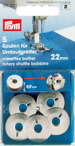 Prym Naaimachine spoel 22mm