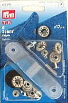 Prym Jeansknoop ster 17mm
