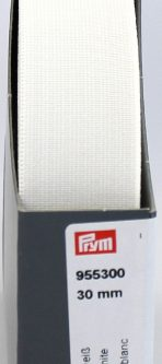 Prym Band-elastiek sterk 30mm wit 10m