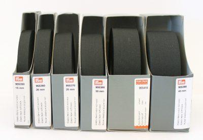 Prym Band-elastiek zacht 15mm zwart 10m