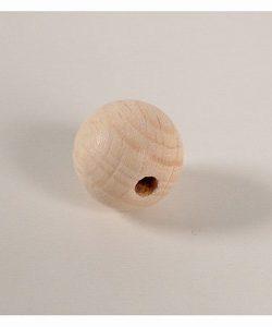Kraal 30mm blank hout (per stuk)-0