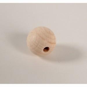 Kraal 35mm blank hout (per stuk)-0