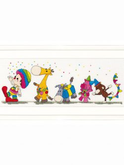 Dendennis Party parade borduurpakket-0