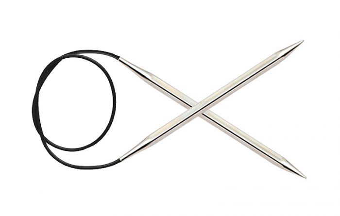 Knitpro Nova Cubics Rondbreinaalden 100cm 8.00mm