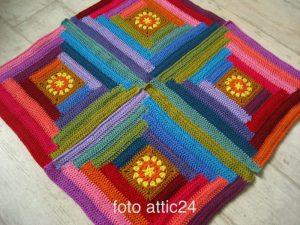 Haakpakket Sunny Log Cabin Attic24-5394