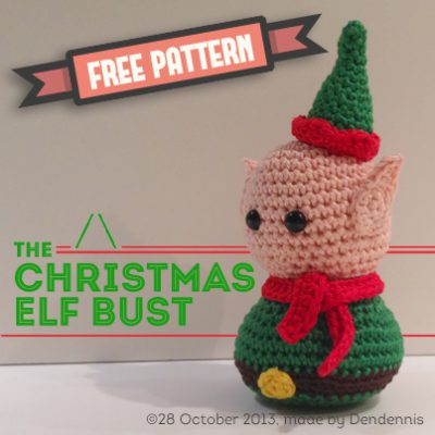 christmas-elf-bust