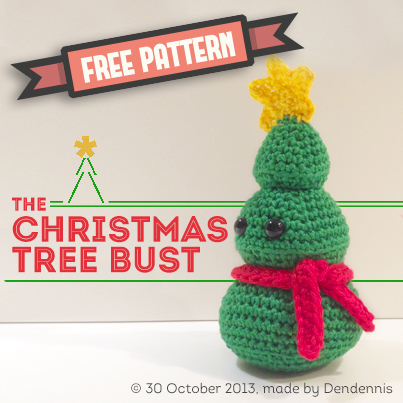 the Christmas tree bust