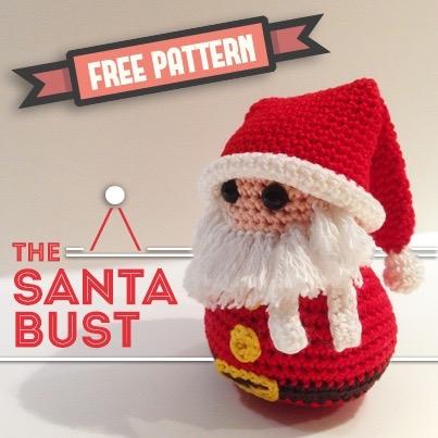 free pattern the santa bust-0