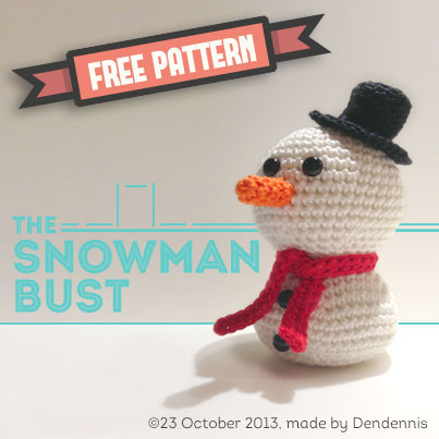 the snowman bust