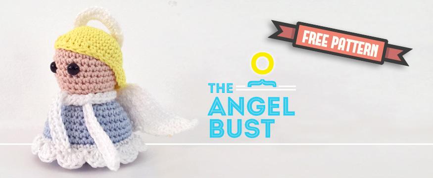 Free amigurumi pattern Christmas Bust Angel