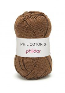 Phildar coton 3 1068 cappucino
