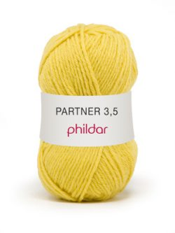 Phildar partner 3,5 208 soufre