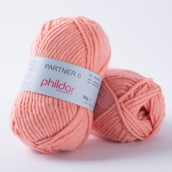 Phildar partner 6 111 saumon-14086