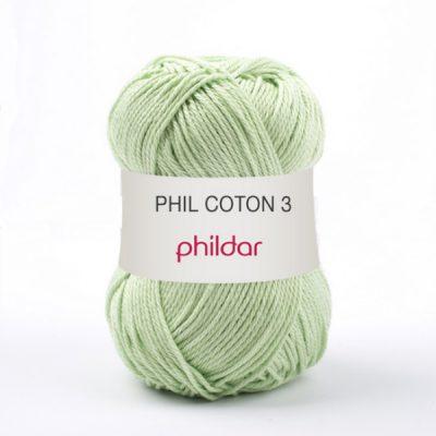 Phildar coton 3 1012 anisade