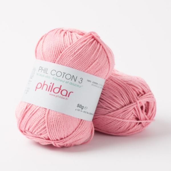 Phildar coton 3 1275 meringue