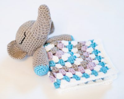 Free pattern - Elephant Snuggle-0