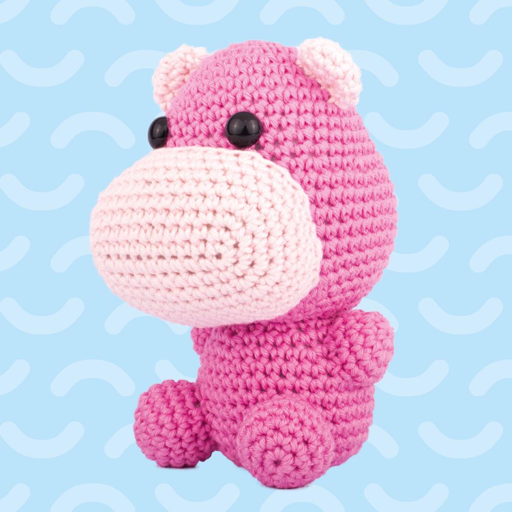 Amigurumi hippo