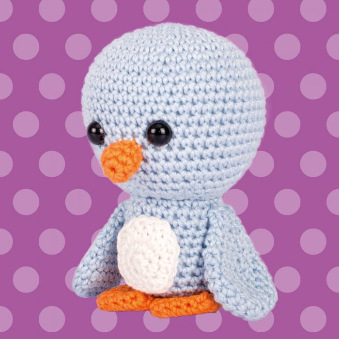 Amigurumi Penguin bird