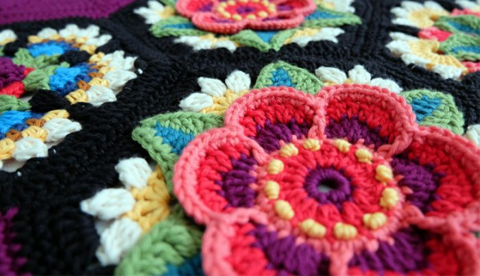 Haakpakket Frida's Flowers met Stylecraft Life DK-7965